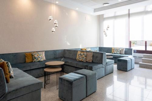 Zona de estar de Hotel & Spa Real Jaca