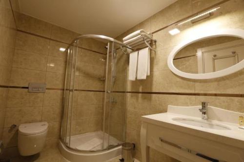 Ванная комната в Hanzade Park Hotel