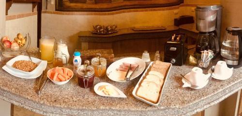Frühstücksoptionen für Gäste der Unterkunft Hotel Boutique Mansion Del Rio