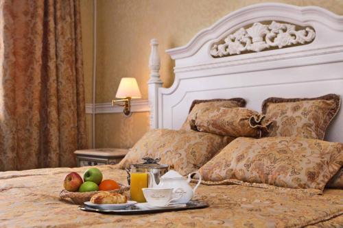 Breakfast options available to guests at Bayangol Hotel