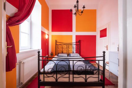 Ein Bett oder Betten in einem Zimmer der Unterkunft Fluxus Hostel