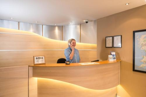 The lobby or reception area at Sure Hotel by Best Western Aberdeen