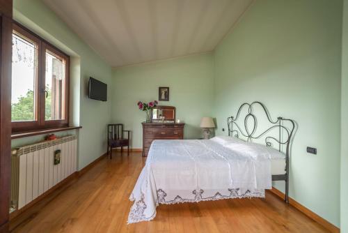 Letto o letti in una camera di The Forest House