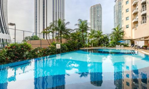 The swimming pool at or near Perdana Kuala Lumpur City Centre