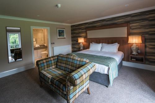 Letto o letti in una camera di Dunadry Hotel And Gardens