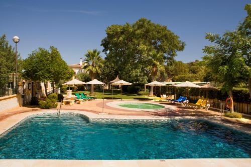 The swimming pool at or near La Cueva Park