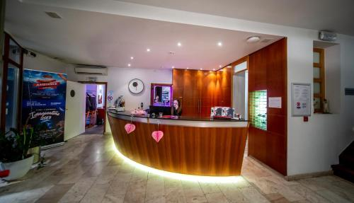 The lobby or reception area at Hotel Saint Sauveur by WP Hotels