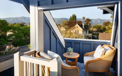 A balcony or terrace at Hideaway Santa Barbara, A Kirkwood Collection Property