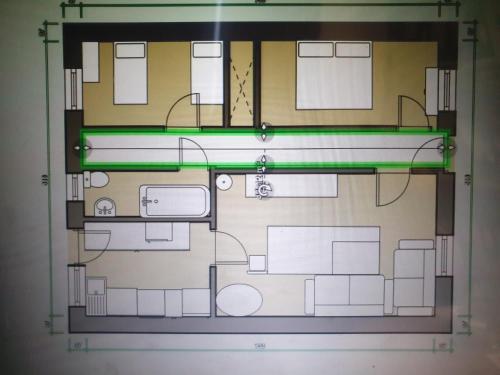 The floor plan of Churchview