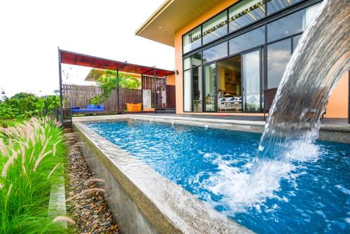 The swimming pool at or close to The Private Pool Villas at Civilai Hill Khao Yai