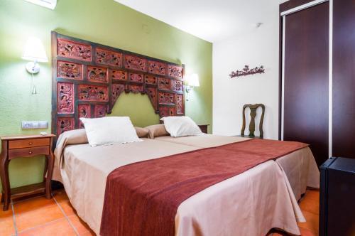 Cama o camas de una habitación en Hotel Sierra de Cazorla & SPA 3*