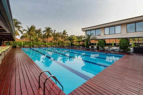 The swimming pool at or near Riviera Royal Hotel