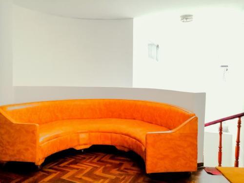 A seating area at Santa Victoria House