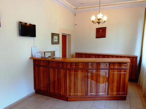 The lobby or reception area at Korona Palace