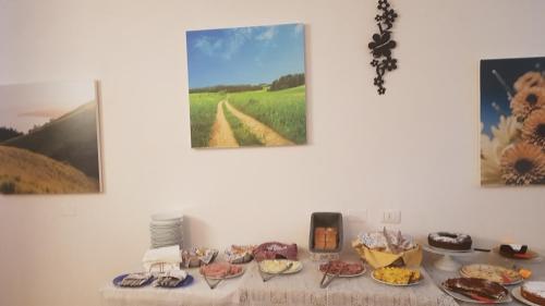 Opções de café da manhã disponíveis para hóspedes em Villa Tuscany Siena