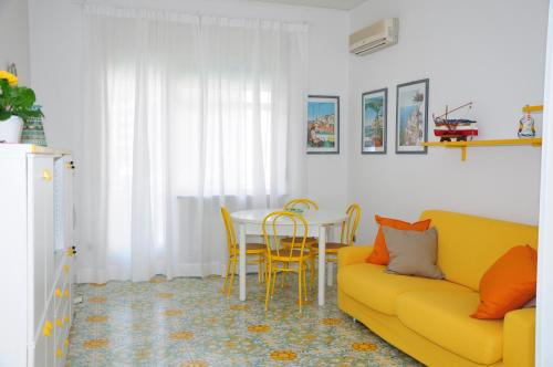 A seating area at La Barchetta