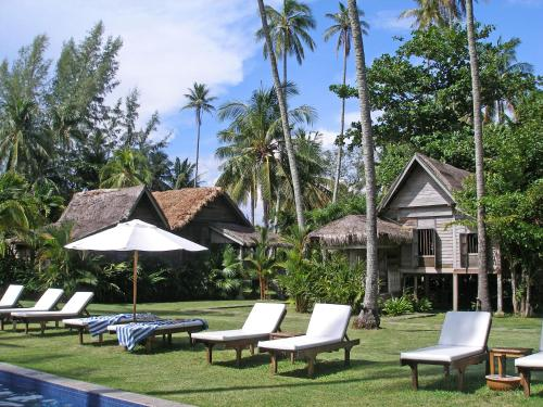The swimming pool at or near Bon Ton Antique Wooden Villas