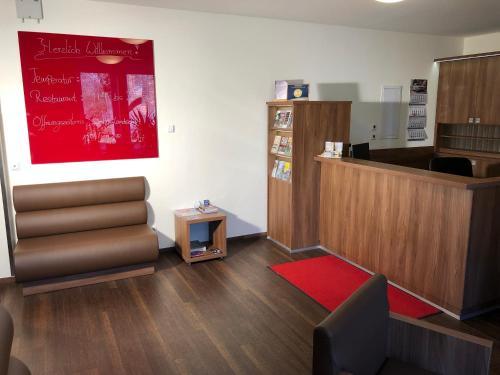 Lobby/Rezeption in der Unterkunft Hotel Isenbütteler Hof