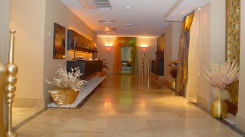 El vestíbulo o zona de recepción de Grand Ankara Hotel Convention Center