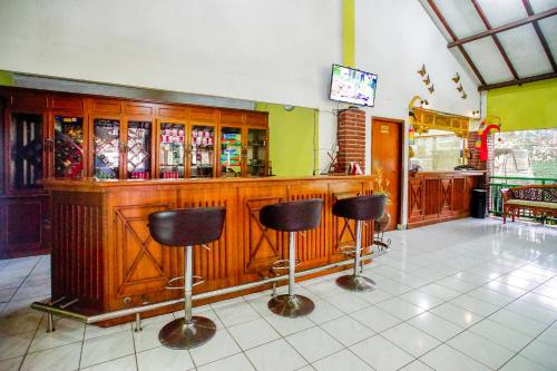 The lounge or bar area at Terrace Villa Golf