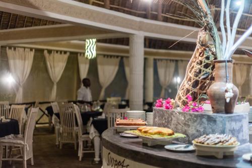 Restaurace v ubytování Twiga Beach Resort & Spa