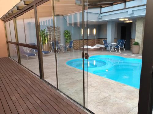 The swimming pool at or near Hotel Serra Nevada