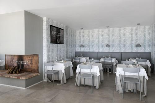 A restaurant or other place to eat at Hotel Ristorante Centosedici