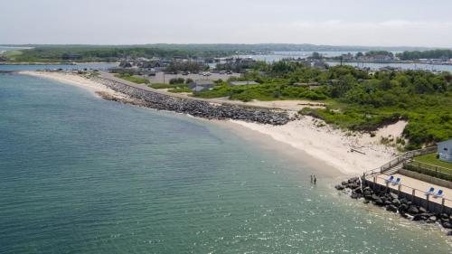 A bird's-eye view of The Montauk Soundview