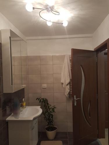 A bathroom at Casa Evelyn