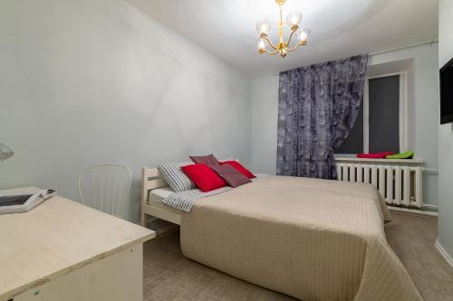 Кровать или кровати в номере RentalSPb with Private entrance