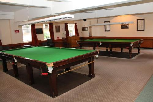A pool table at Ravenswood British Legion