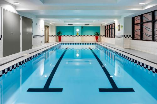 The swimming pool at or near CityLife Auckland