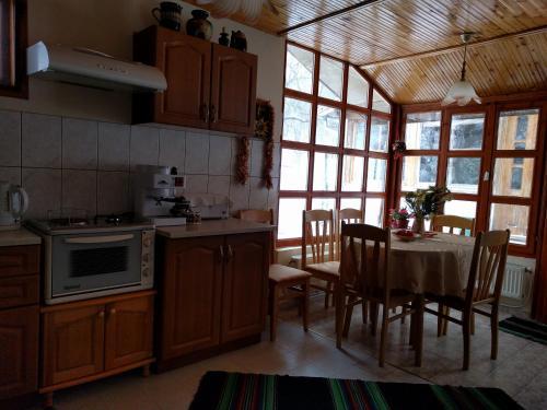 Кухня или кухненски бокс в Вила Радо