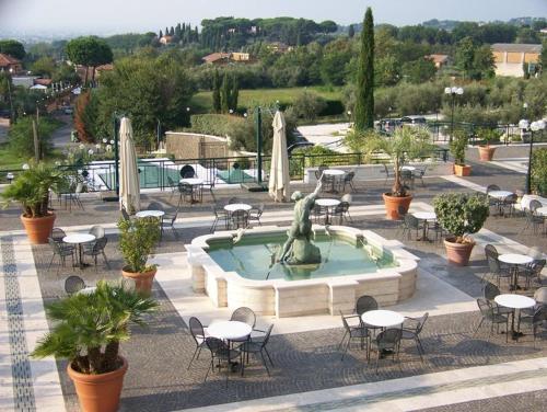 The swimming pool at or near Domus Caesari