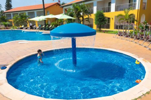 Бассейн в Hotel Palm Beach или поблизости