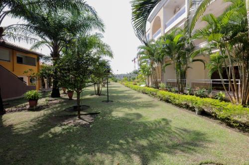 Сад в Hotel Palm Beach