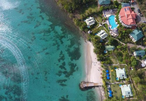 A bird's-eye view of Calabash Cove Resort and Spa - Adults Only
