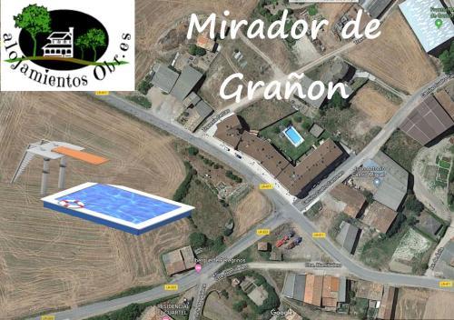 A bird's-eye view of Apartamentos Mirador de Grañón