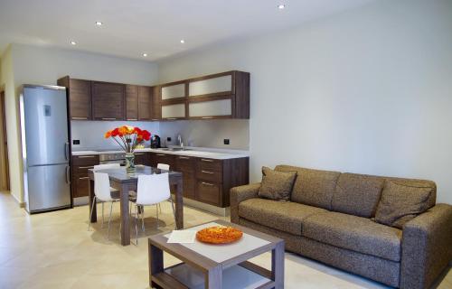 A kitchen or kitchenette at BB 10 Serpotta