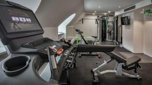 The fitness center and/or fitness facilities at Platzl Hotel - Superior
