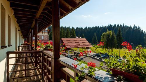 A balcony or terrace at Ana Hotels Sport Poiana Brasov