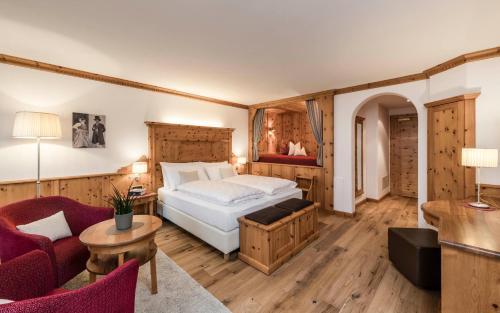 Кровать или кровати в номере Hotel Angelo Engel