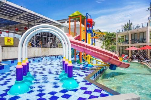 Children's play area at FuramaXclusive Ocean Beach Seminyak Bali