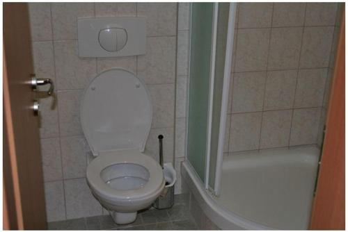 Kúpeľňa v ubytovaní Hotel Mariana Gaborika