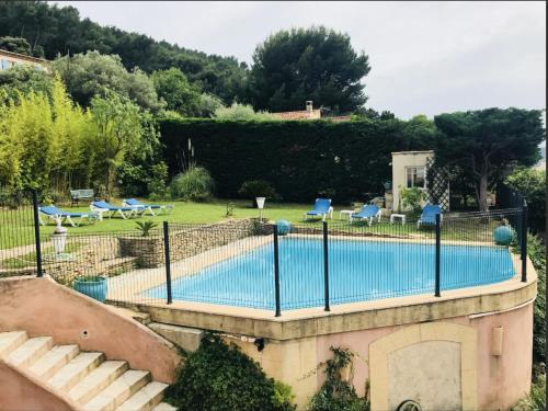 The swimming pool at or close to Gite Grand R