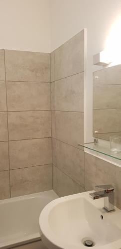 A bathroom at Regency Hotel