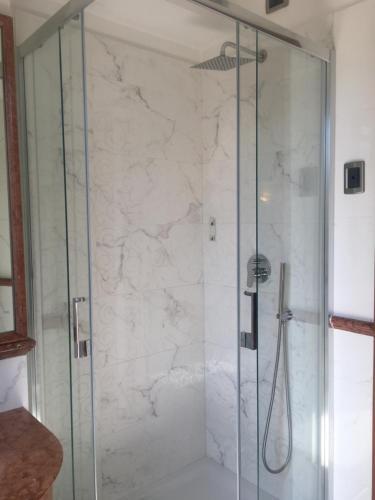Ванная комната в Hotel Hiberia