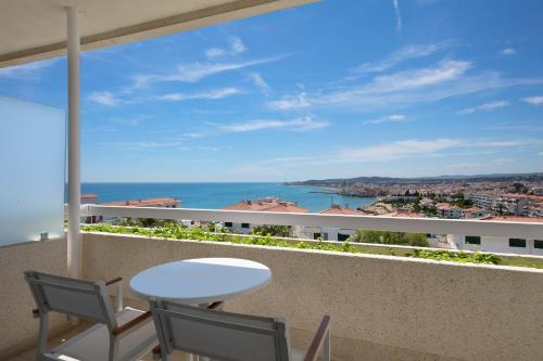 A balcony or terrace at Melia Sitges