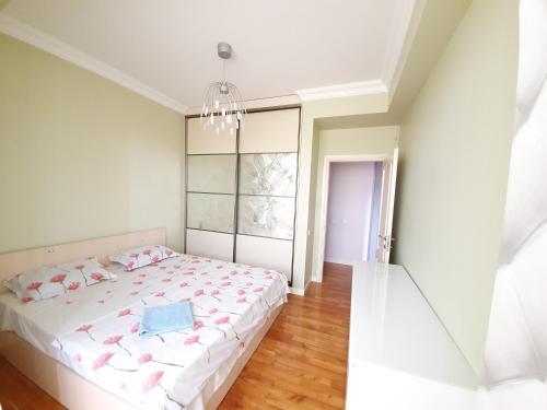 Lova arba lovos apgyvendinimo įstaigoje Rent Lux Apartment in Chisinau