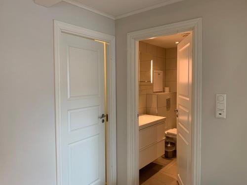 A bathroom at The Apartments Company - Bislett